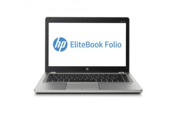 "HP EliteBook Folio 9470m Argento Ultrabook  (14"") Intel® Core™ i5 di terza generazione-3427U 2.8GHZ  MAX TURBO 4GB-180SSD WINDOS 10 PRO"