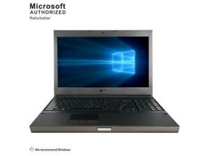 NOTEBOOK RICONDIZIONATO WORKSTATION DELL PRECISION M4600 15,6'' INTEL I7 2720-2820QM 8GB-640HD  DVD-R NVIDIA QUADRO 2000M DA 2GB –F-HD WINDOWS  10 PRO