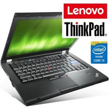"Notebook Lenovo Thinkpad T420 Core i5-2520M 4Gb 320Gb 14.1"" LED DVDRW Windows 10 Professional"