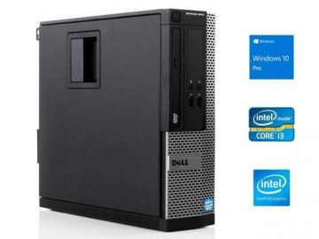 PC Dell Optiplex 3010 SFF Core i3-3220-45 3.3GHz 4Gb 500Gb DVD-RW Windows 10 Professional