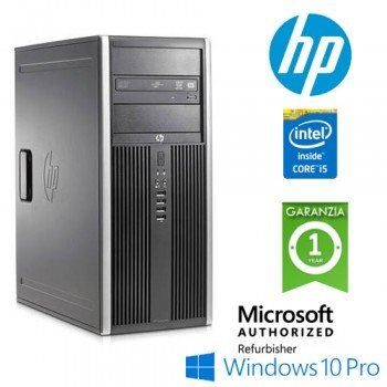 PC HP Compaq 8200 Elite Core i5-2400 3.1GHz 8Gb Ram 500Gb DVD Wifi Tower Windows 10 Professional