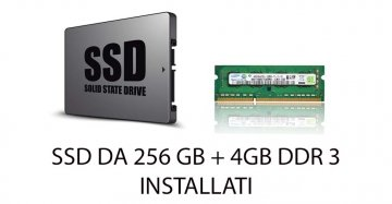 UPGRADE SSD 256+4GB DDR3 ( INSTALLATI )